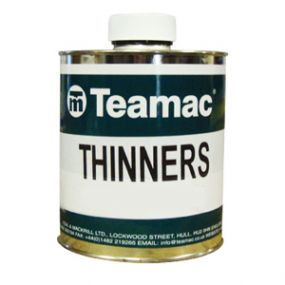 Teamac Thinner | Cleaner | V/607/16 | www.paints4trade.com